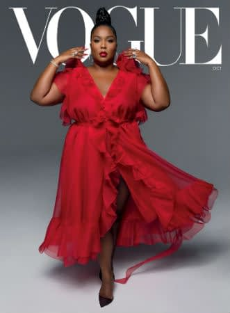 Lizzo Covers Vogue