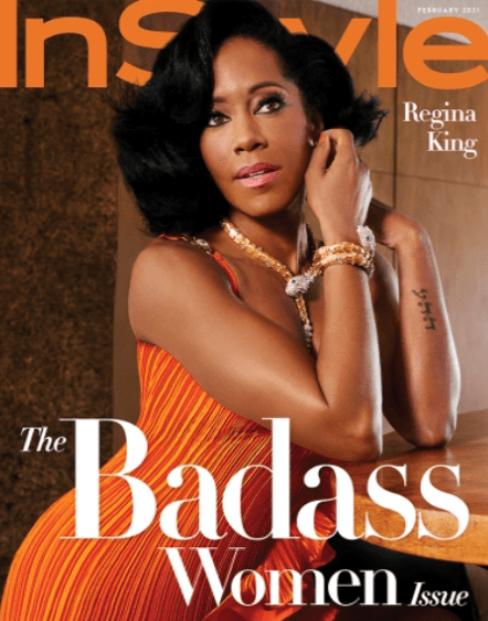 Regina King Covers Instyle