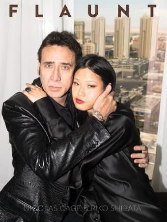 Nicolas Cage Flaunts His Love