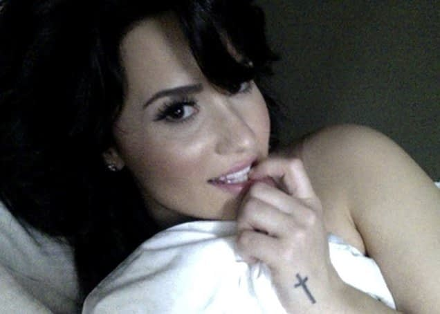 Leaked Demi Lovato Topless Photos Are Probably (Hopefully?) Fake