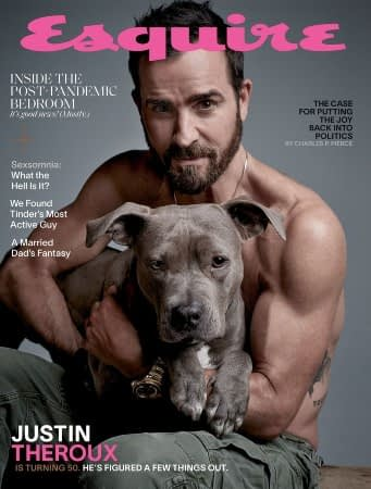 Justin Theroux Blesses Us with Esquire Thirst Trap