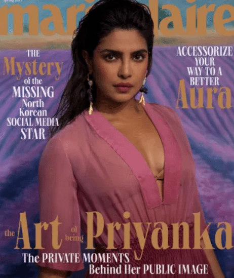 Priyanka Chopra Finds the Silver Lining