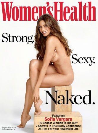 Sofia Vergara Poses Nude for Women's Health