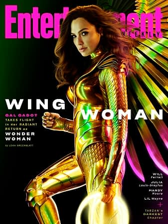 Gal Gadot Promotes Wonder Woman 1984