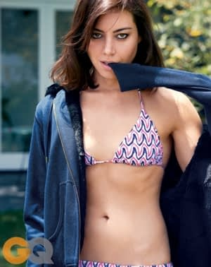 Aubrey Plaza Gets Sexy and Sarcastic for GQ