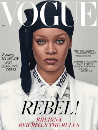 Rihanna British Vogue
