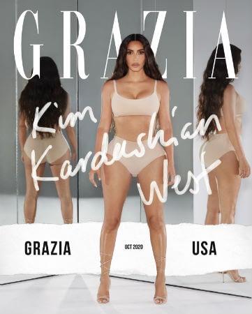 Kim Kardiashain_Grazia-USA