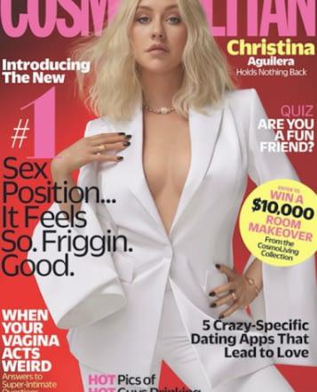 Christina Aguilera Cosmo Cover