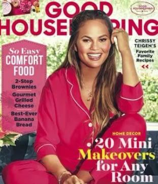 Chrissy Teigen Good Housekeeping