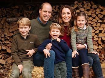 kate middleton prince harry christmas card