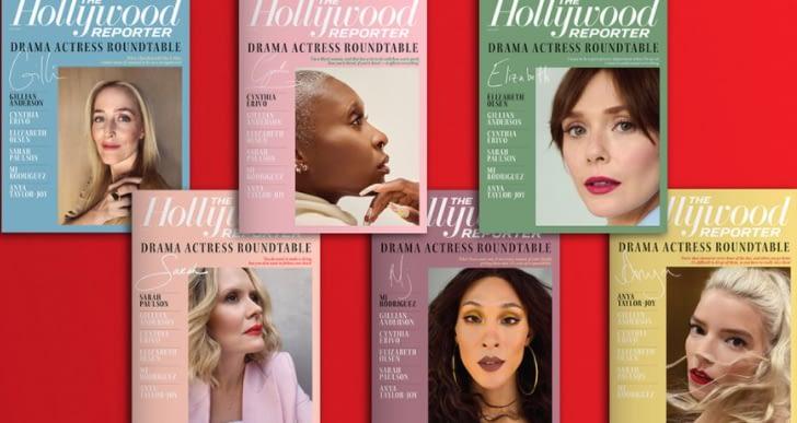 Gillian Anderson, Anya Taylor-Joy, Cynthia Erivo, Elizabeth Olsen, Mj Rodriquez and Sarah Paulson