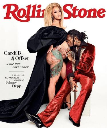 Rolling Cardi B Cover