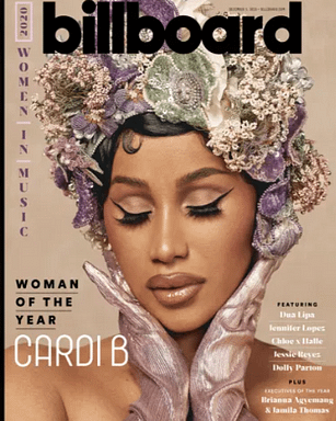 Cardi-B billboard woman of the year