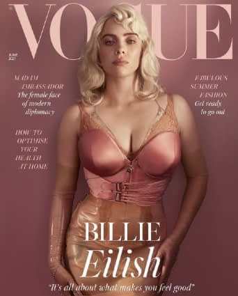 Billie-Eilish-vogue cover