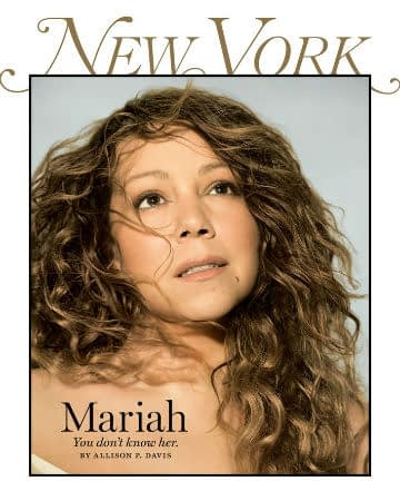 mariah carey new york magazine