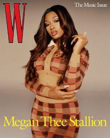 megan thee stallion w cover