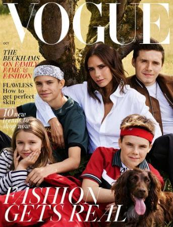 Beckhams-British-Vogue-October-2018