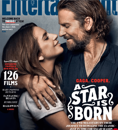 Lady Gaga and Bradley Cooper A Star Is Born