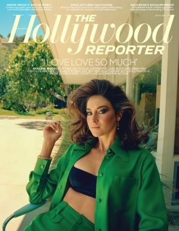 Shailene Woodley covers THR,