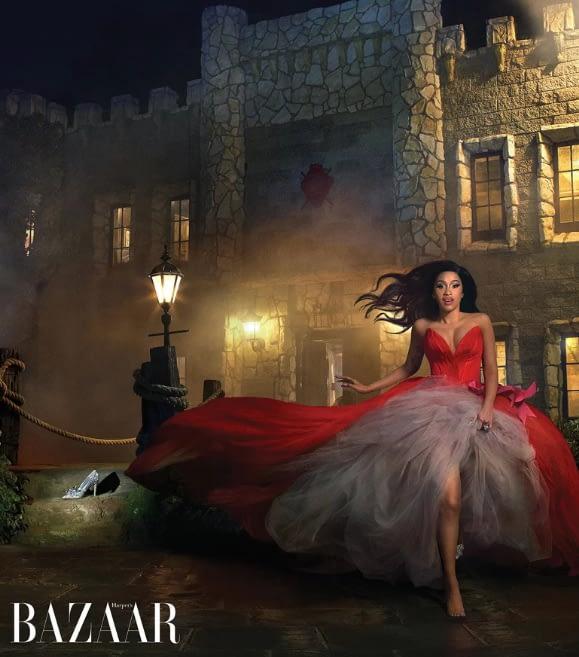 Cardi B Offset Harpers Bazaar