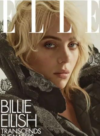 Billie Eilish on the elle cover