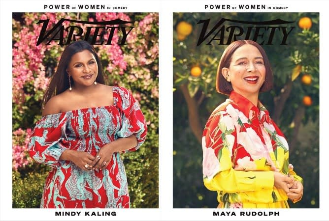 mindy kaling maya rudolph vanity fair