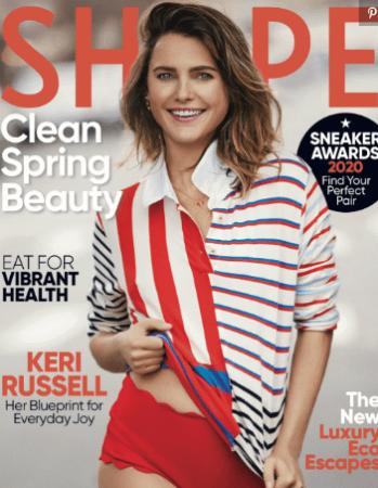 Keri Russell Shape magazine