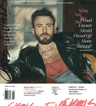 Chris Evans esquire