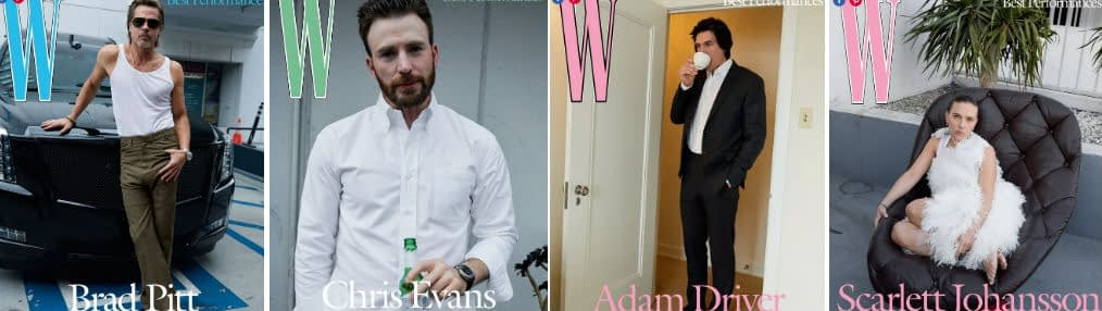 brad pitt chris evans adam driver scarlett