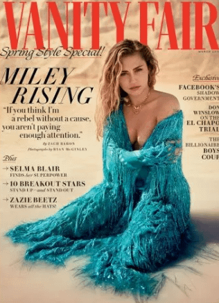 Miley Cyrus Liam Hemsworth Vanity Fair