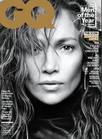 Jennifer Lopez 'GQ' Men Of The Year Issue