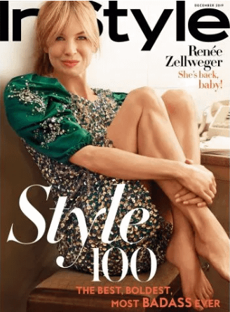 Renée Zellweger InStyle