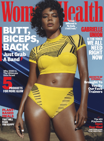 gabrielle union womens health