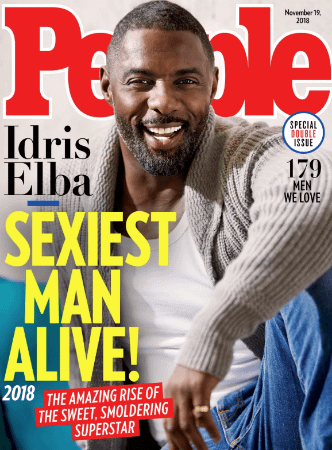 Idris Elba Is PEOPLE s Sexiest Man Alive 2018
