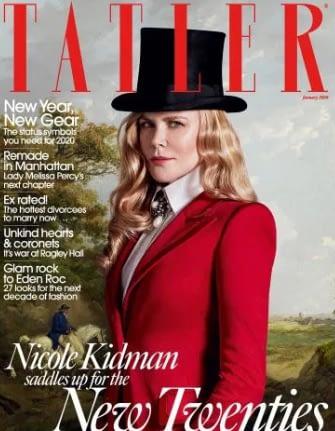 Nicole Kidman Tatler Bombshell