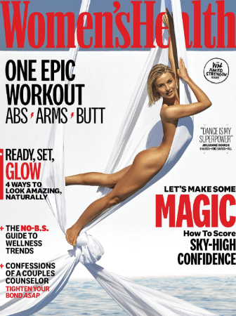 Julianne Hough naked cover