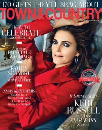 keri russell town and country