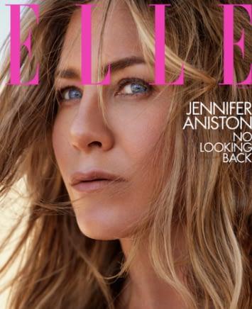 Jennifer Aniston Elle Magazine