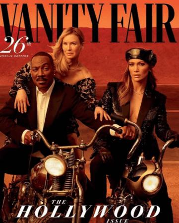 Vanity Fair Hollywood Issue jlo renee eddie murphy