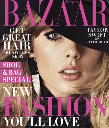 Taylor Swift interviews Pattie Boyd for Harper s Bazaar