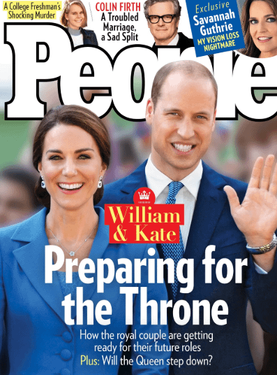 Kate Middleton Prince William people cover