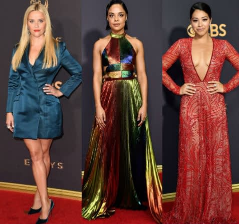 emmys dresses fashion red carpet 2017