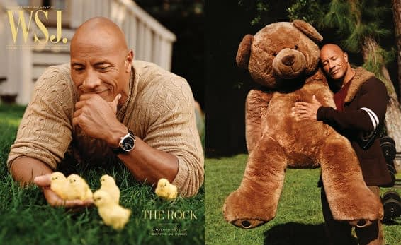 the rock wsj mag