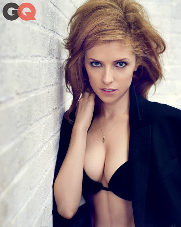 Anna Kendrick Strips Down For GQ