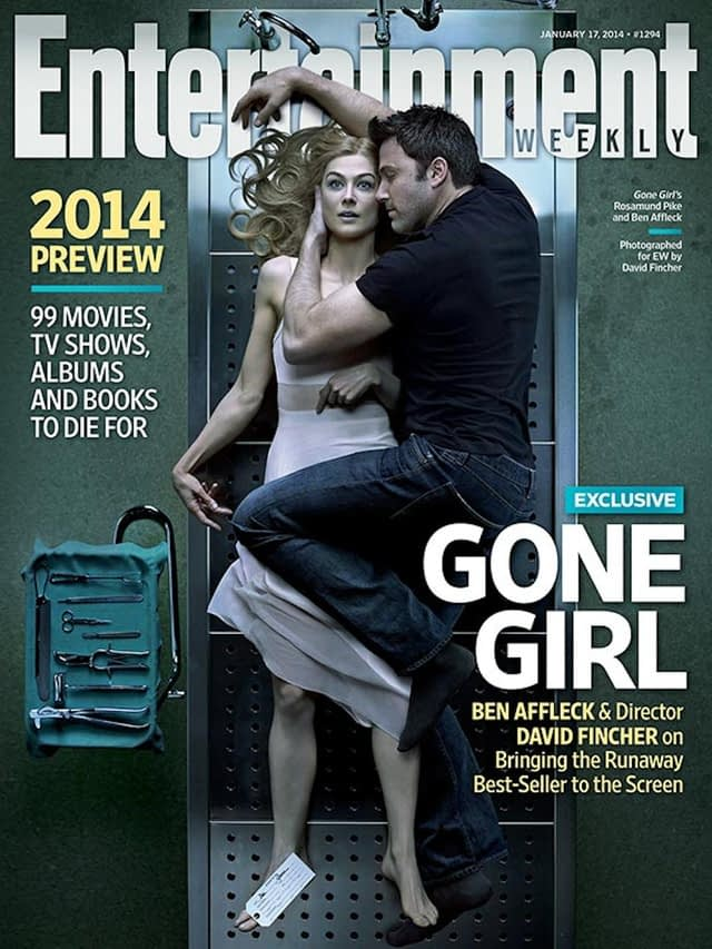 Dead Sexy? Ben Affleck Cozies Up to Rosamund Pike on EW's Gone Girl Cover