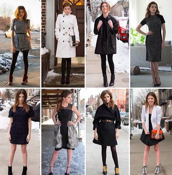 Meet Anna Kendrick, The Fashionista
