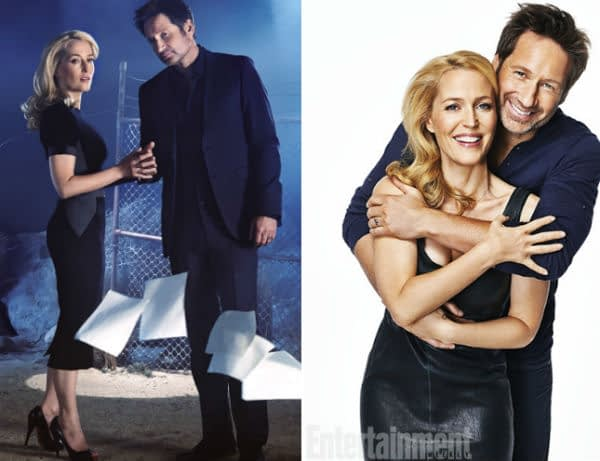 "Gillian Anderson on Dating David Duchovny: ""It's a nice idea, but it's not going to happen"""