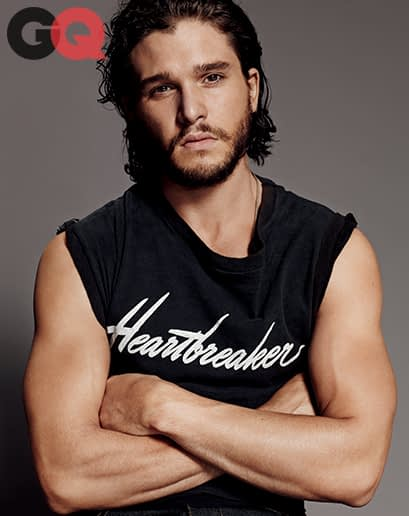 Kit Harrington Talks Hair and Heroism in GQ