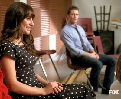 Lea Michele Quizzed About Sex with Matthew Morrison