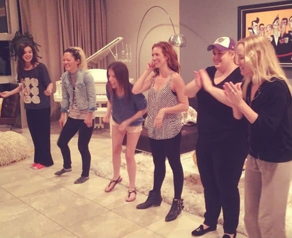 Anna Kendrick Shares Pitch Perfect 2 Pic